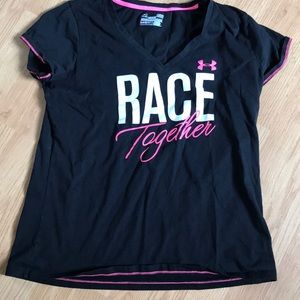 Under Armour women's athletic tee shirt size large